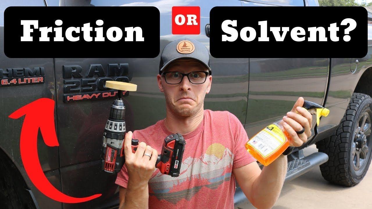 How To Remove Car Emblems Goo Gone Vs Eraser Wheel Debadging Your V Car Emblem Goo Gone How To Remove