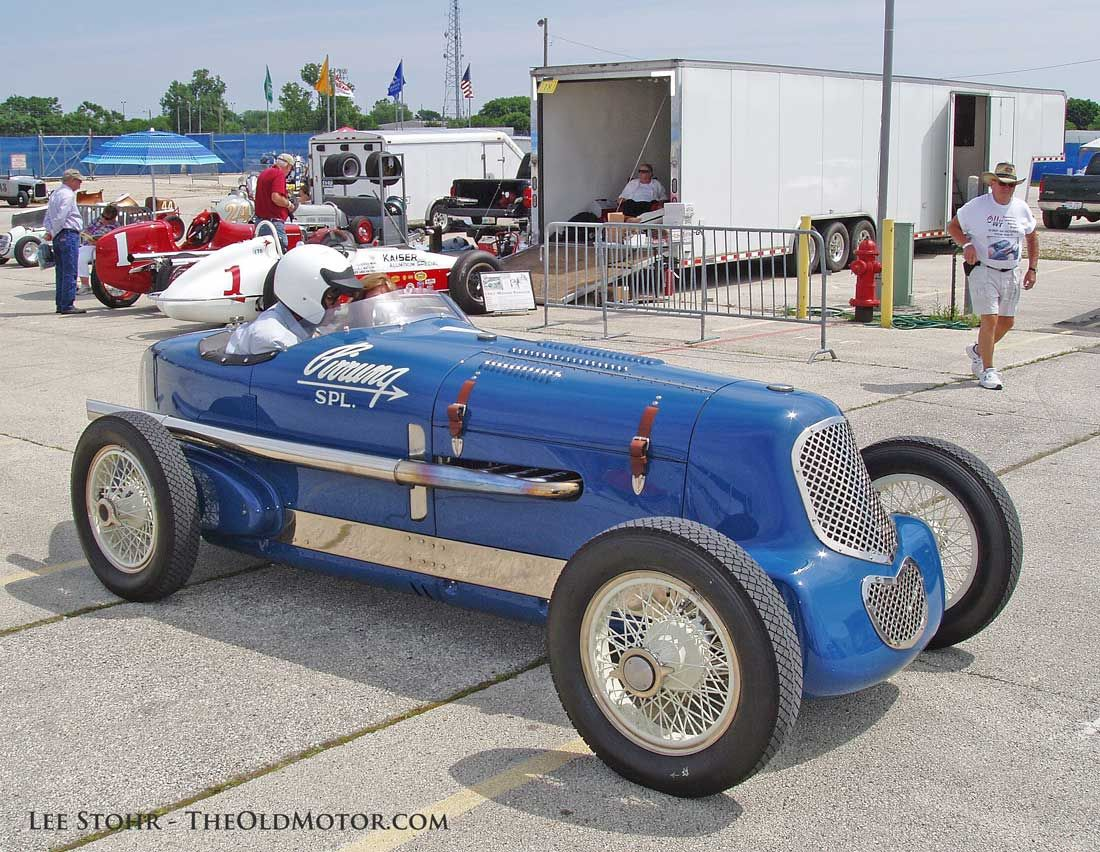 The 2014 Millers At Milwaukee Vintage Indy Car Exhibition: This 1935 ...