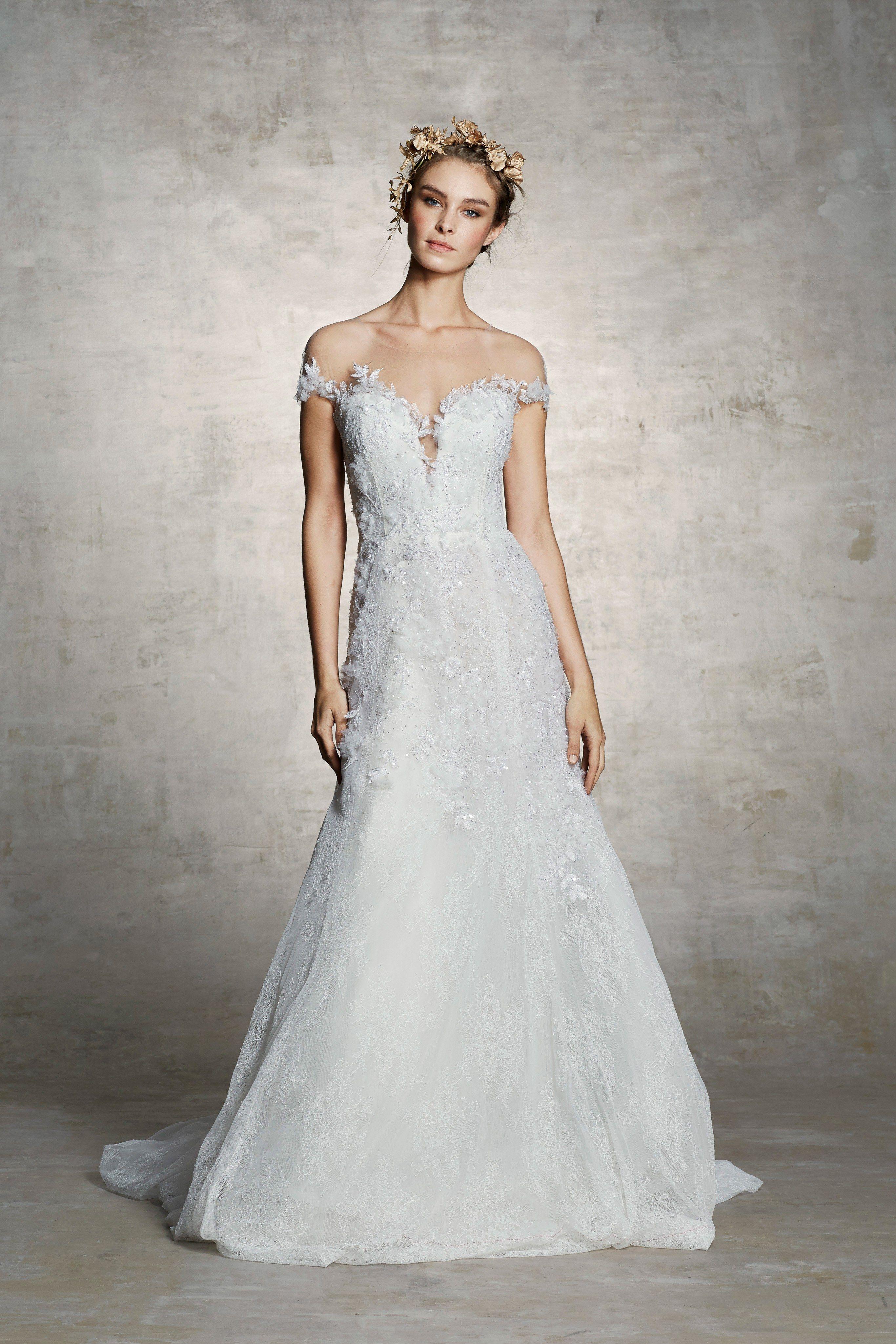 Marchesa bridal spring fashion show in weddings