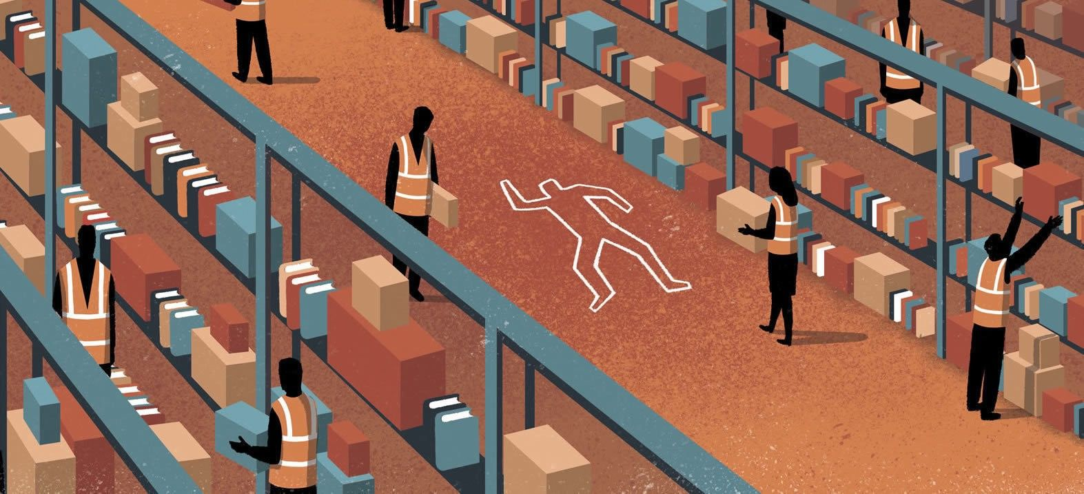 The Life and Death of an Amazon Warehouse Temp — What's The Future of Work? — Medium