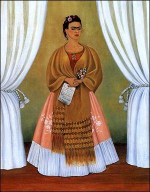Question 2 : Qui a peint ce portrait pour Trotski ? 1. Diego Rivera 2. Frida Khalo 3. Tamara de Lempicka