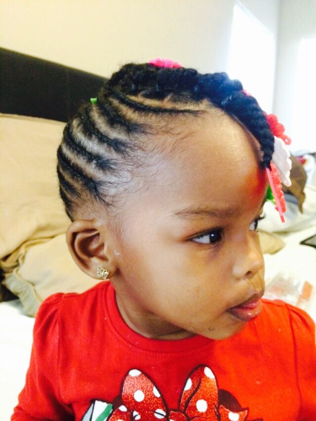 Jayda 5 Days From 2 Years Old Natural Braids Little Girl Hairstyles Natural Braids Baby Girl Hairstyles