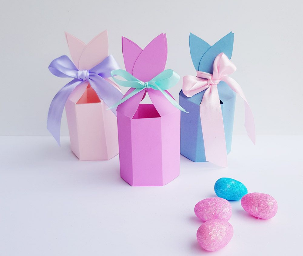 Free bunny ears gift box printable for easter bunny easter and free bunny ears gift box printable for easter negle Images