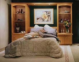 Emerald City Closets - bed down