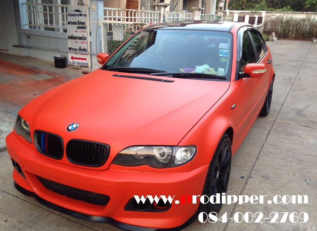 Car - BMW E46 Plasti Dip - Orange 2 Gallon Spray Gun 2 0 mm