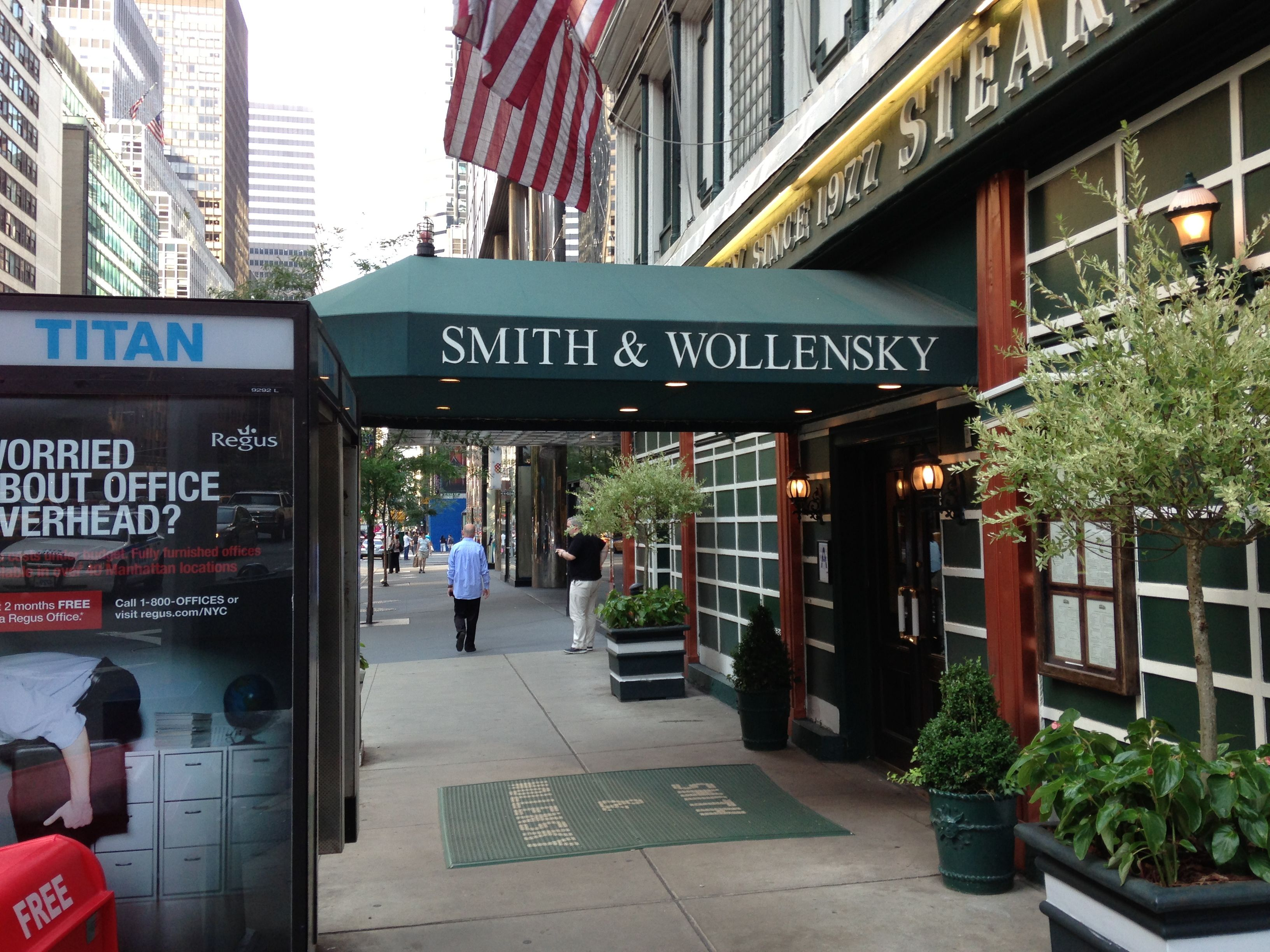 Smith Wollensky NYC (With images) Nyc, Smith, Places to eat