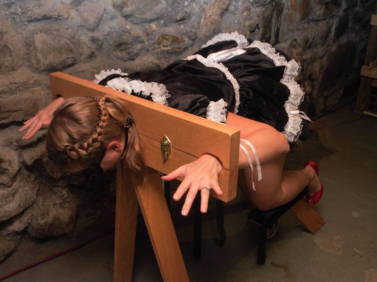 girl kept in bondage
