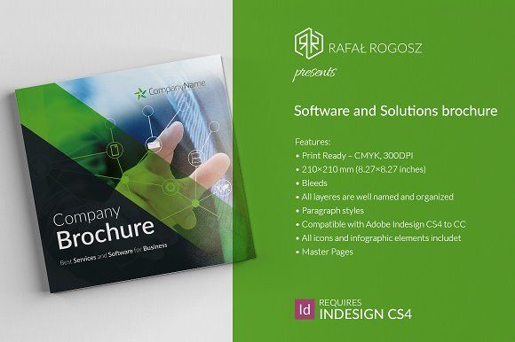 Software And Solutions Brochure Creativework  Brochure Design