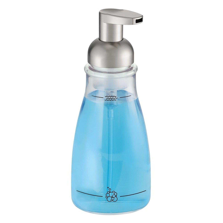 Interdesign Foaming Soap Dispenser Pump,Kitchen Or Bathroom Brushed ...