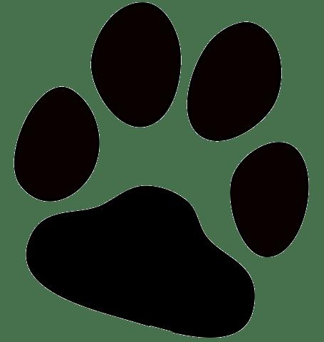Transparent Dog Paw Print Png Dog Paw Print Puppy Paw Prints Paw Print Clip Art