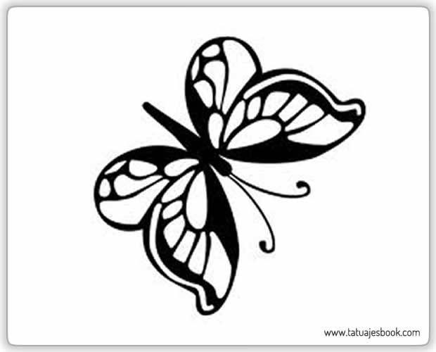 30 hermosos dibujos de mariposas para tatuajes | Tatuajes Book | Mi ...