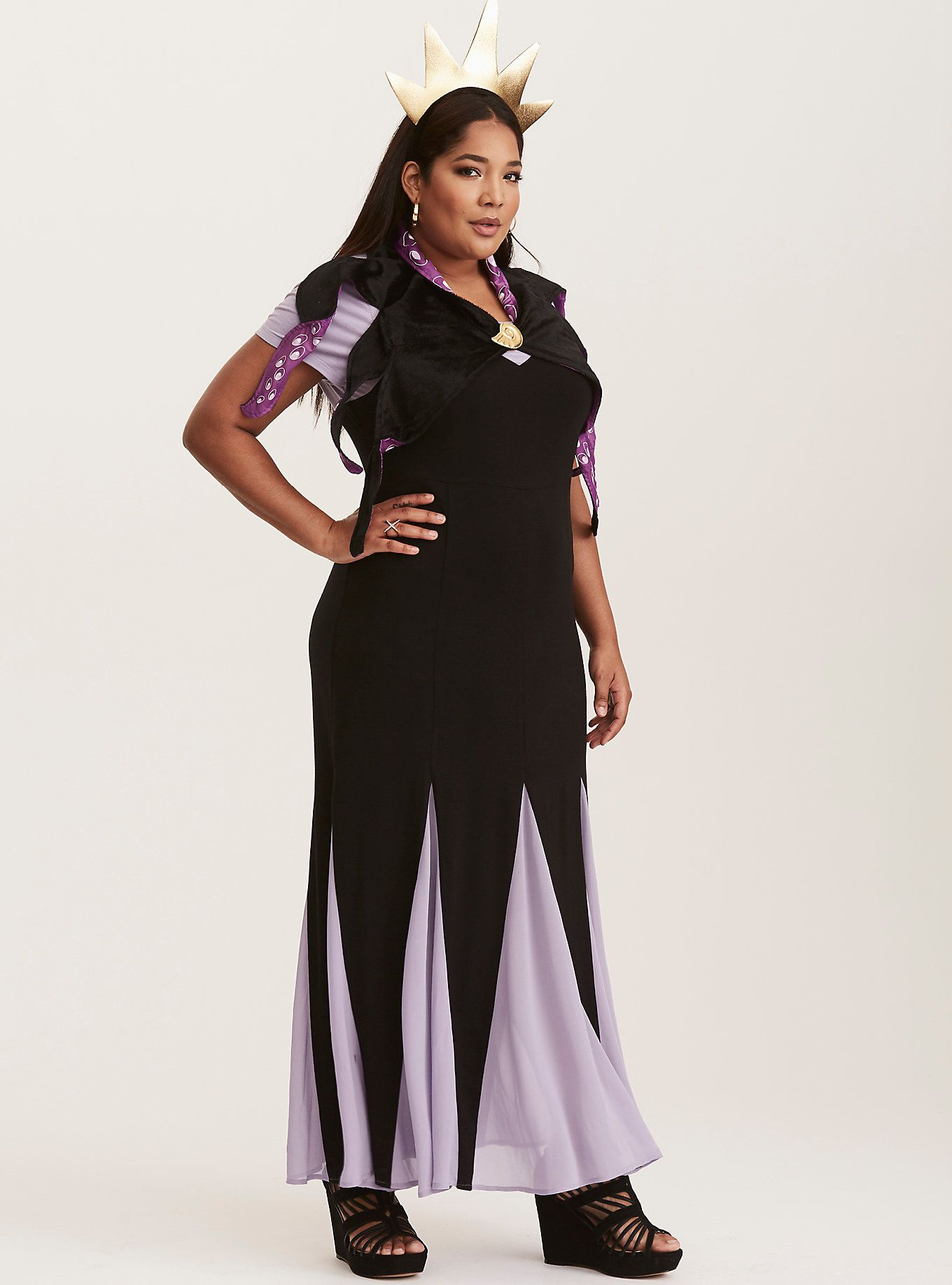 disney ursula outfit torrid plus size halloween costume