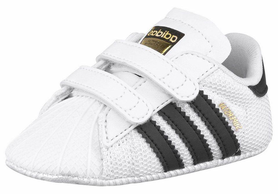 Adidas Superstar Grib Baby Sneaker, weißschwarz