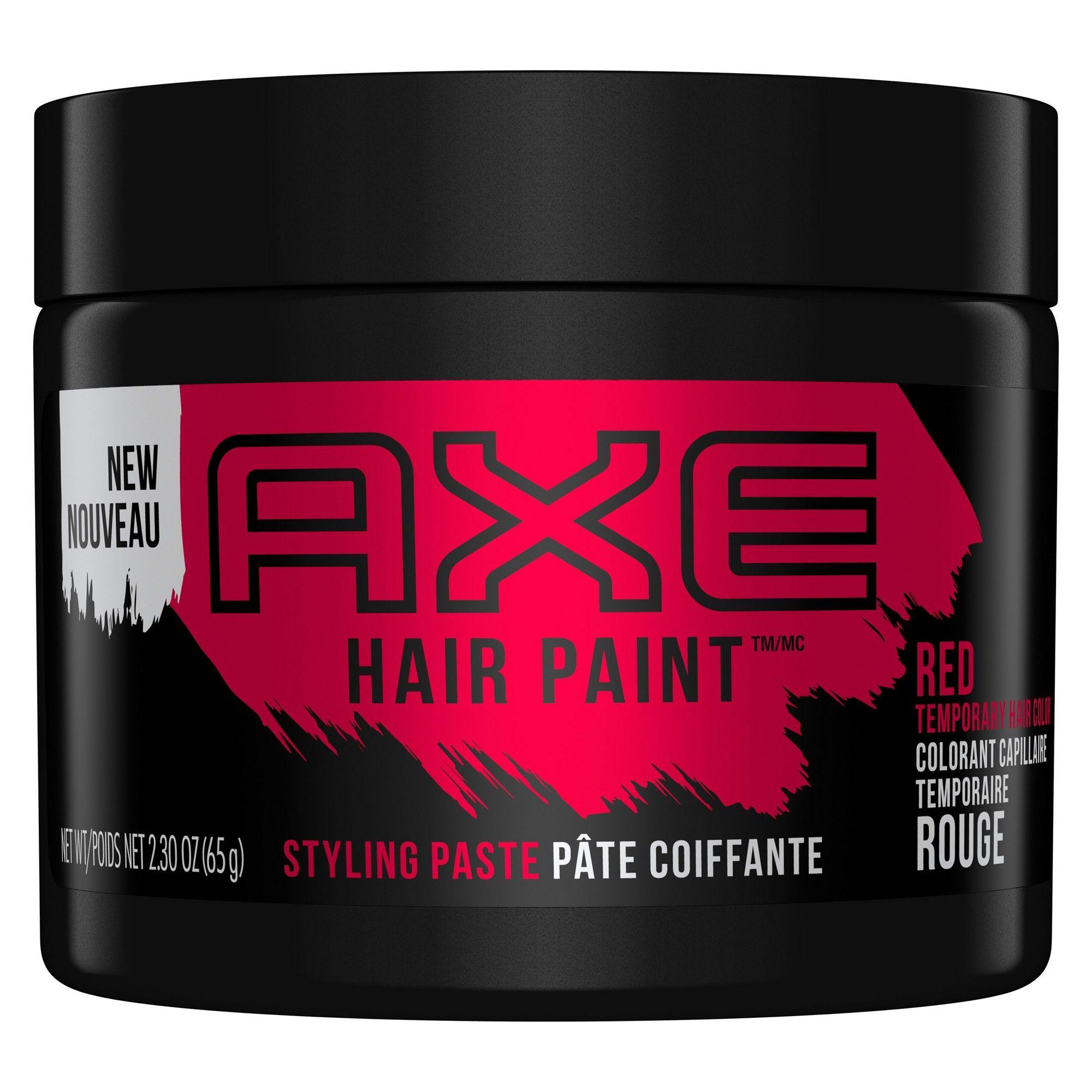 Axe Hair Paint Putty Red 2 3oz Axe Hair Products Hair Painting Hair Masque