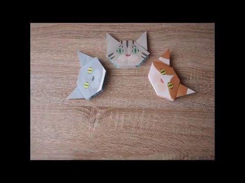 Catchy Cat Origami ~parapara~