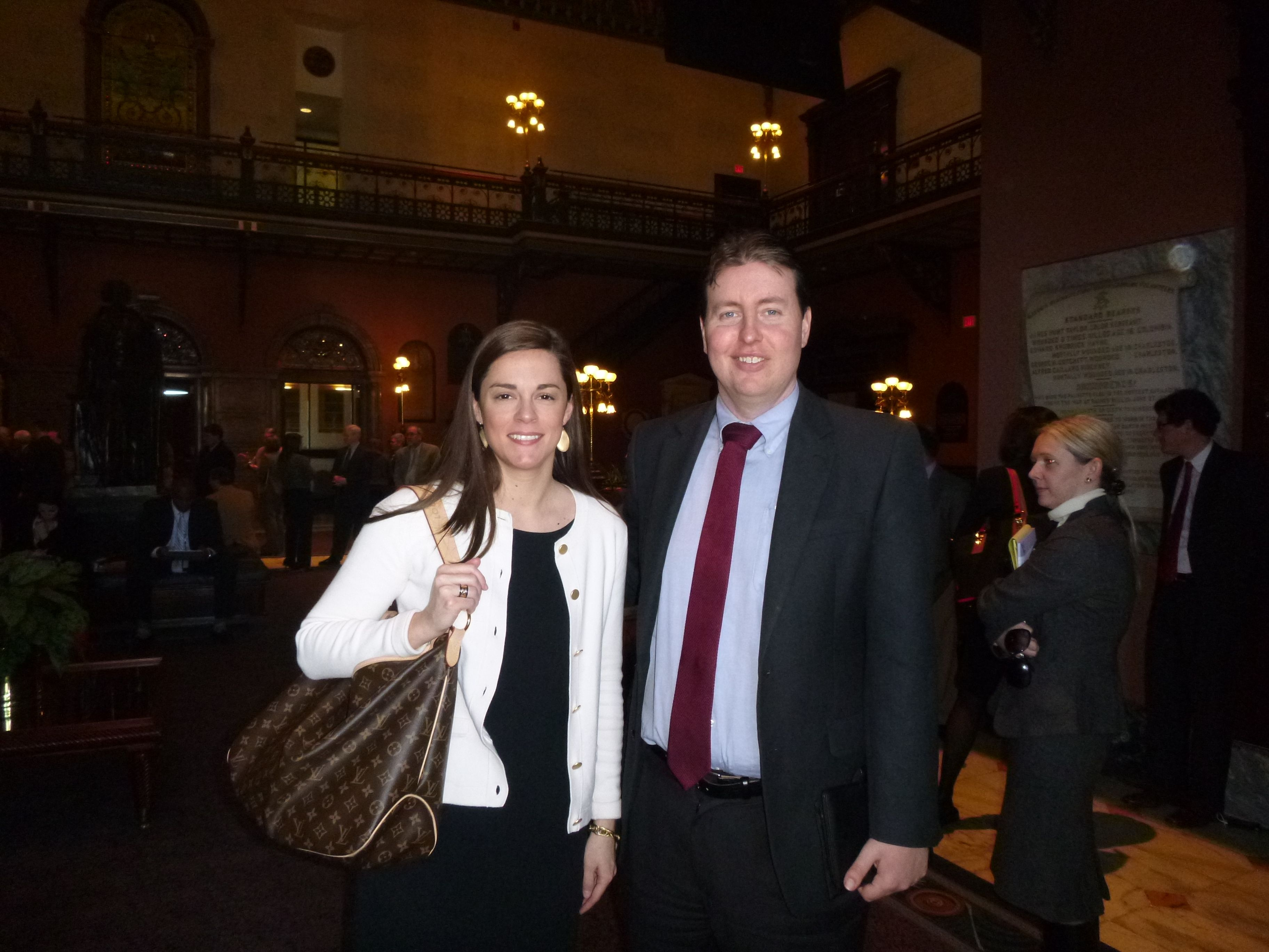 Danielle lewis attorney -  Attorney Evan Guthrie With Lee Ellen Bagley Of Gafney Lewis Edwards At The South Carolina