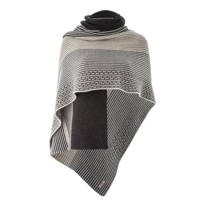 The roundstone grey wrap has subtle tones of grey and earth it is a large wrap that will keep you warm and snug in those winter months