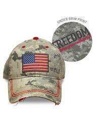Digi Camo Americana Hat
