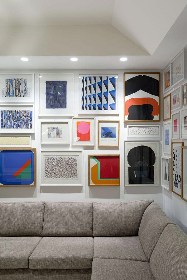 Extensive Collection of Art and Books Adorning the F5 Apartment in ...