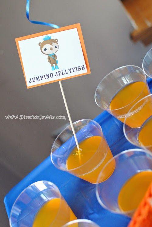 Octonauts Birthday Party Food Ideas Shellingtons Jumping