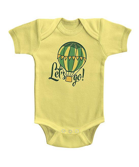 Banana 'Let's Go' Bodysuit - Infant