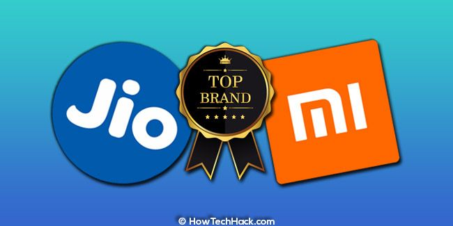 Jio in Telecom & Xiaomi In Smartphones Are India's Top