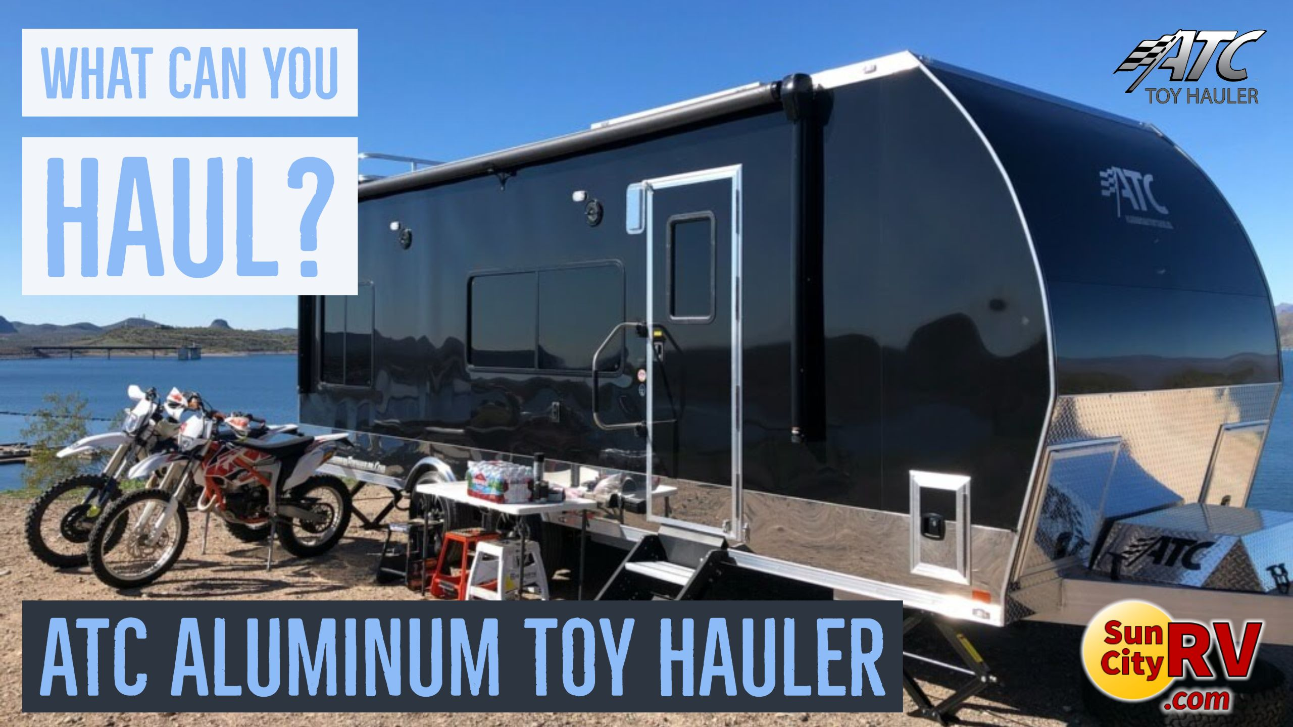What Can You Haul With An Atc Aluminum Toy Hauler What Have You