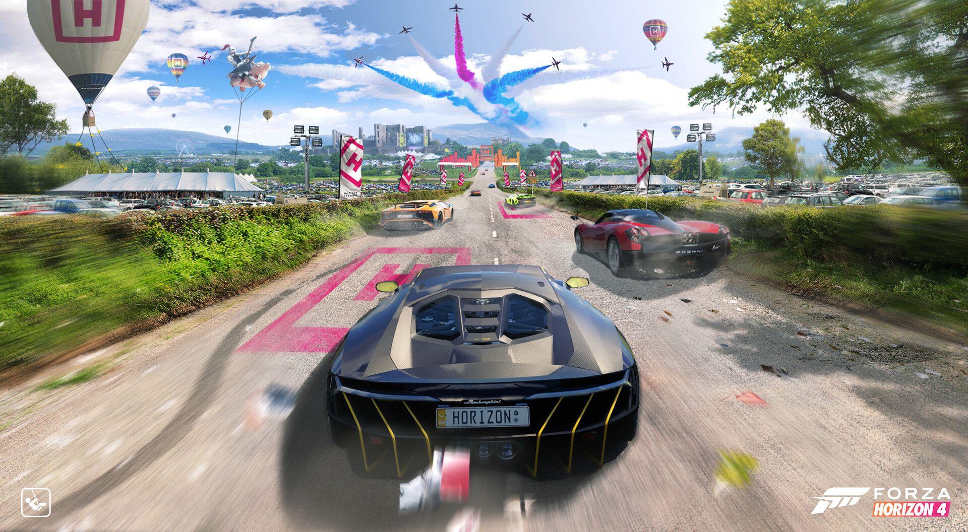 Artstation Forza Horizon 4 Initial Drive Michael Richards