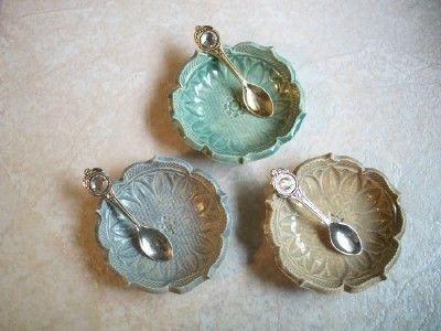 lotus bowls with spoons