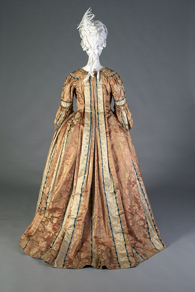 A Closer Look at an 18th-Century Gown | Gowns, Kent state university ...