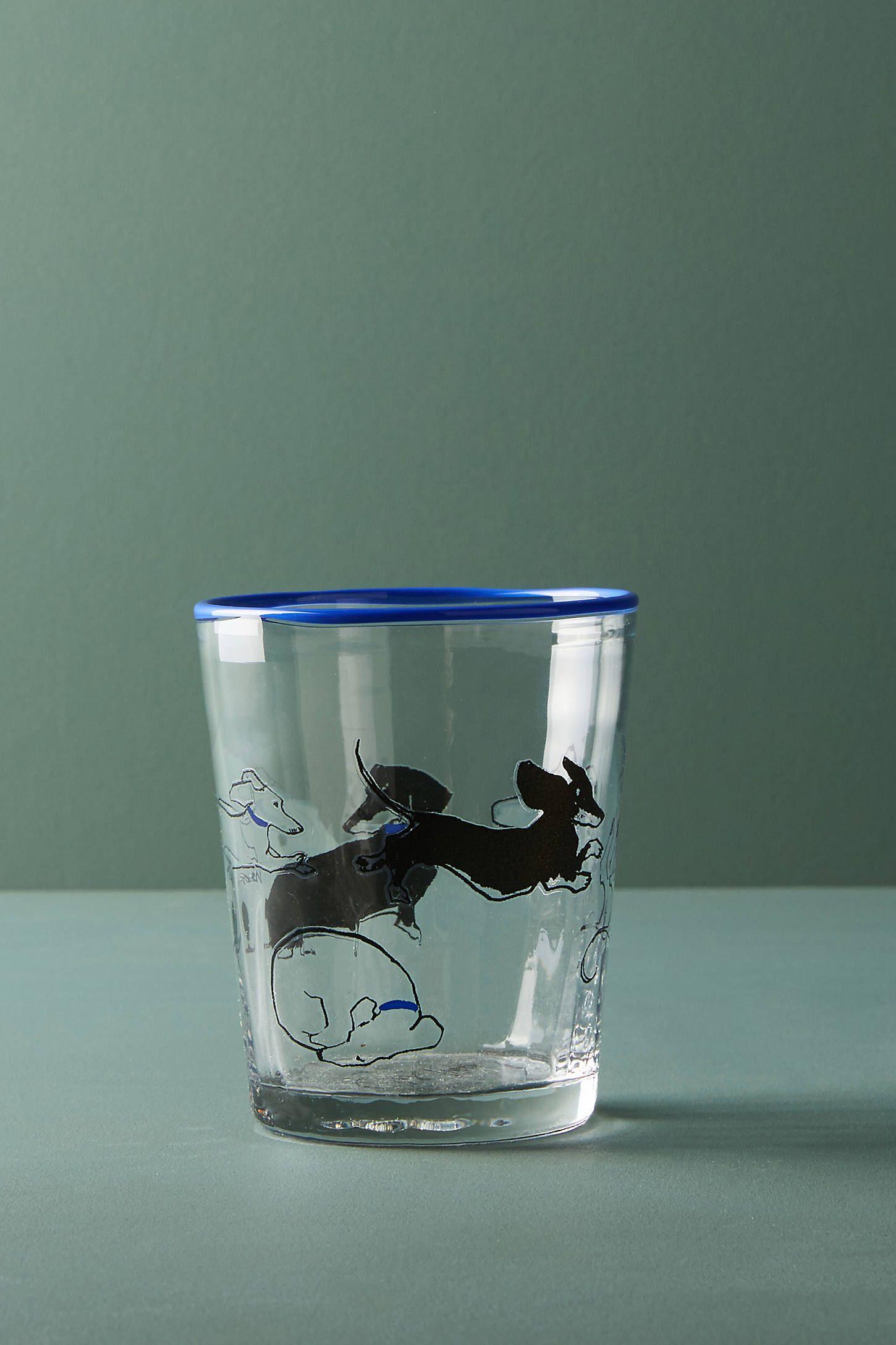 Sally Muir DogaDay Juice Glass Design crafts, Glass