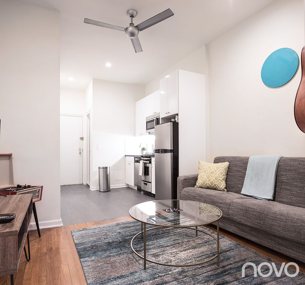 Stay With Novo In Midtown East Nyc Staynovo Boutiqueliving Midtowneast Nyc Novonyc Interiordesign Gre Boutique Living Grey Decor Furnished Apartment