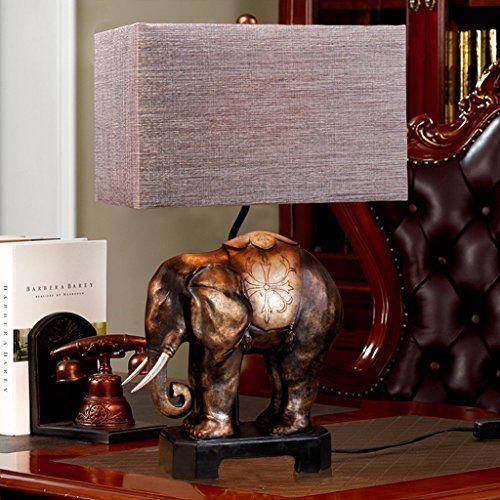 Sudostasiatischen Elefanten Lampe Komplexen Klassischen Europaischen