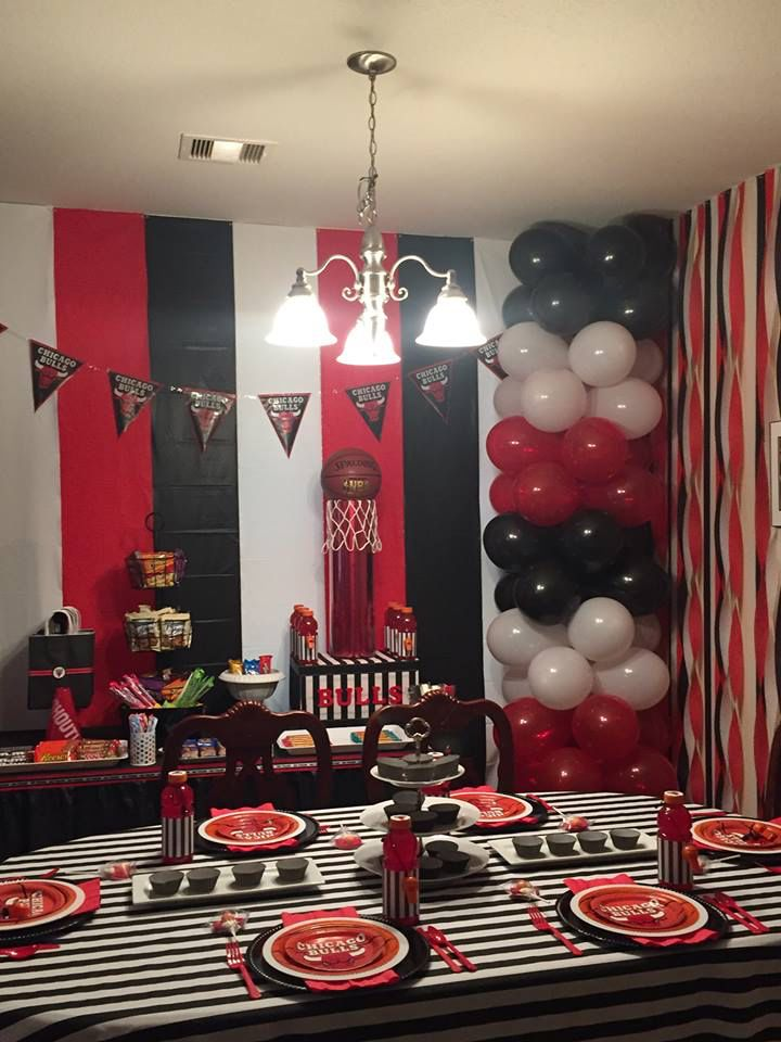 Concessions Basketball Birthday Parties Silver Party