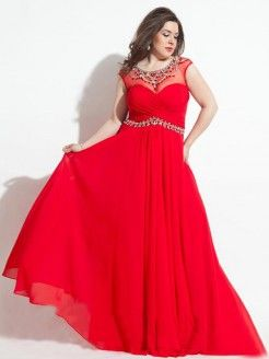 Women's Size Prom Dress