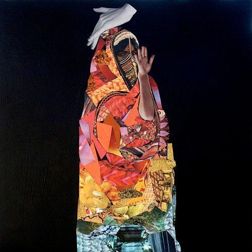 Collage work  by Brandi Strickland