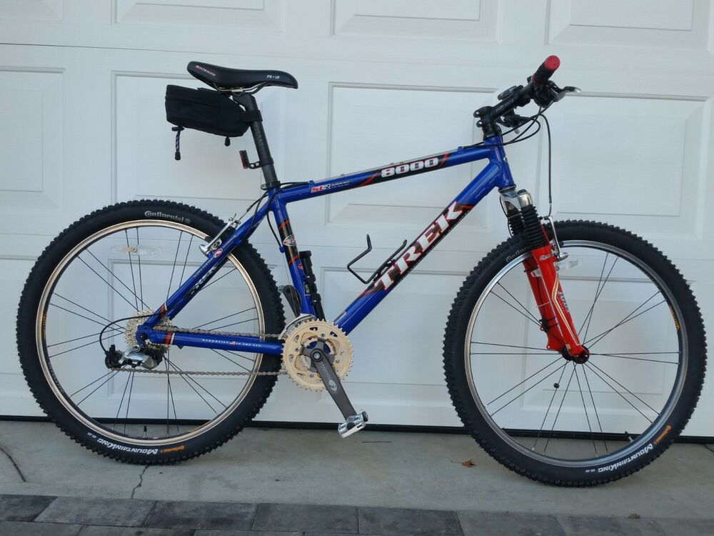Trek 8000 17 5 Mountain Bike Handbuilt In The Usa Trek Trek Bicycle Commuter Bike Bike