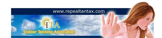 Help repeal the tanning tax!