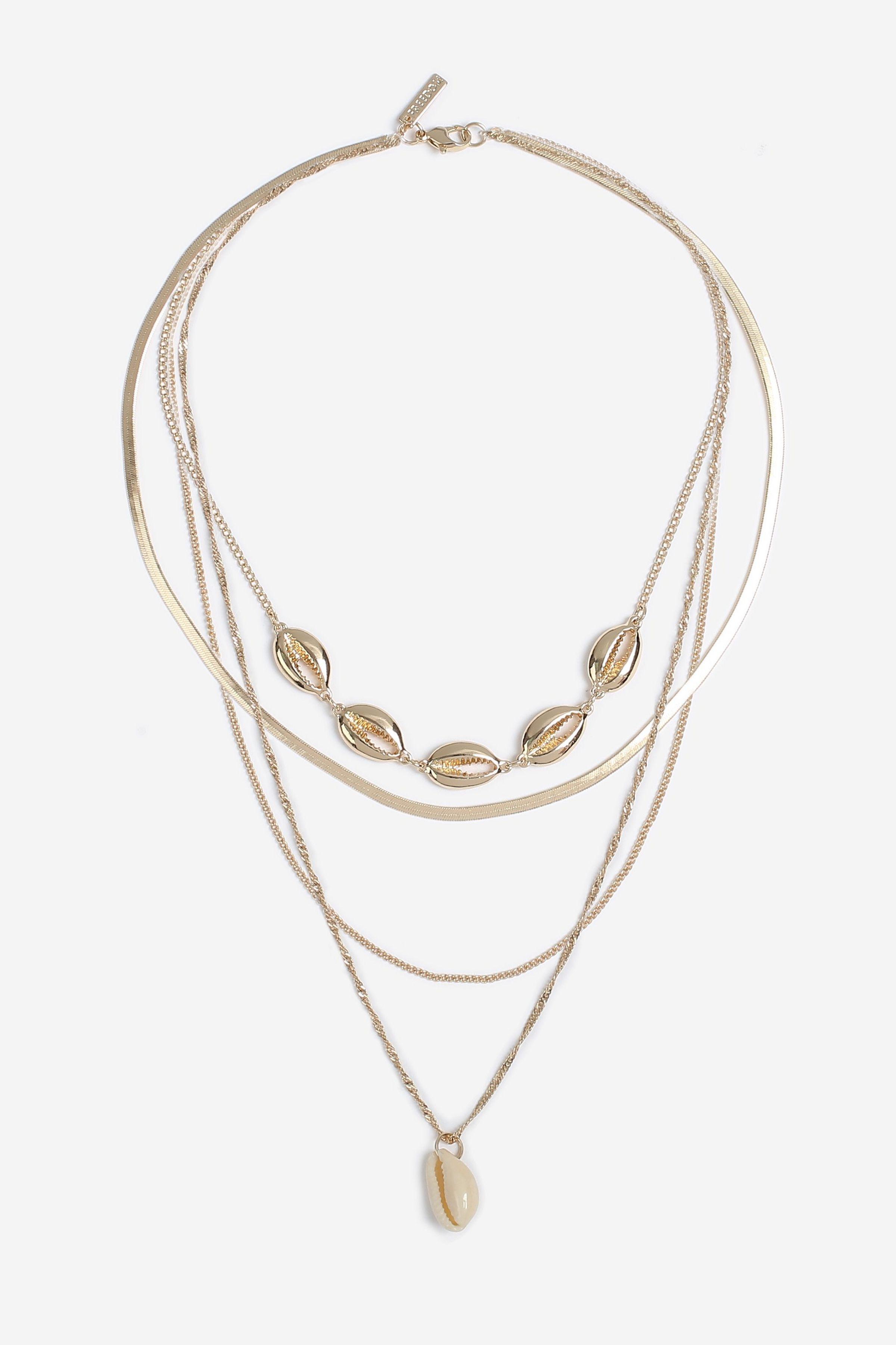 Conchi Shell Layered Necklace Jewelry Trends Fall Jewelry Jewelry