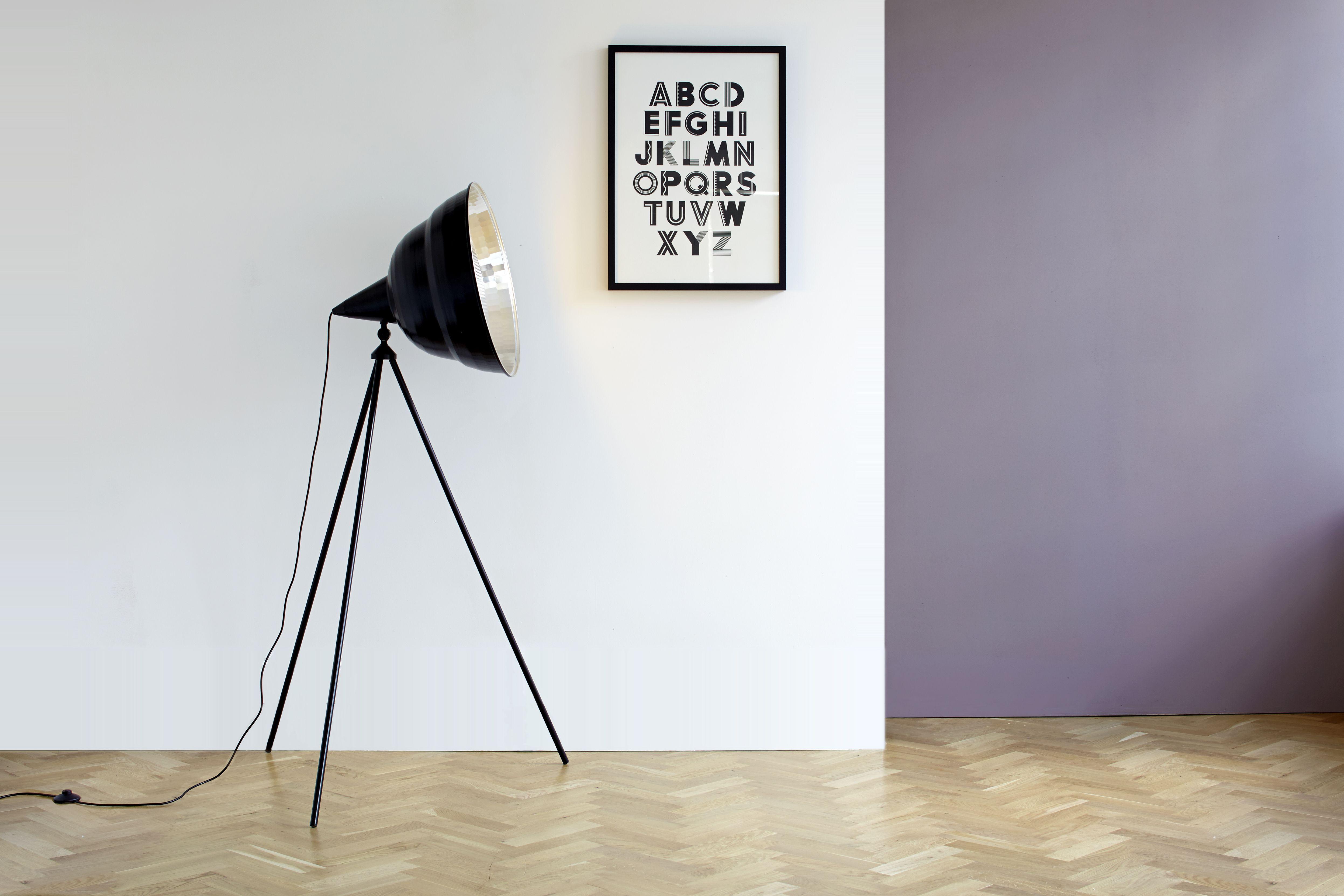 Giant Photographic Floor Lamp Inspired