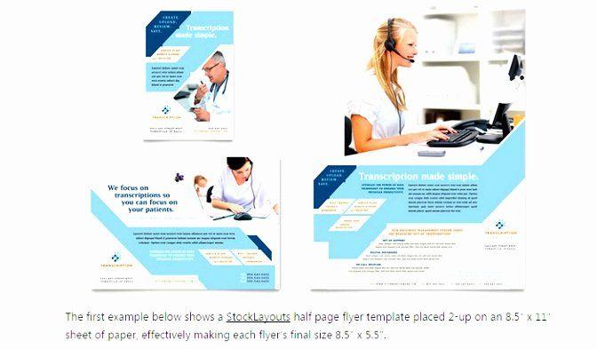 Half Page Flyer Template Word Best Of 9 Quarter Sheet Flyer