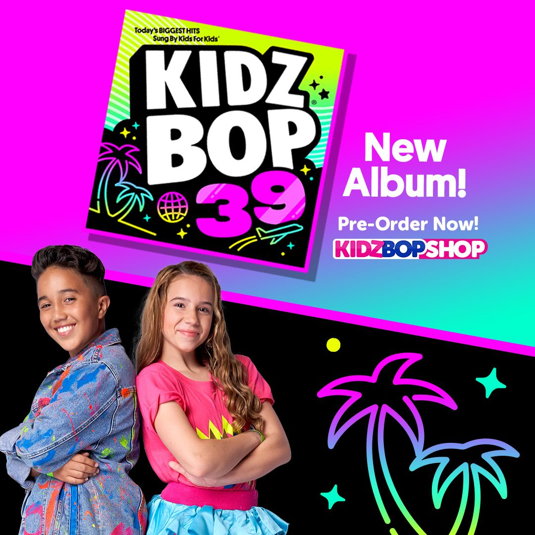 Kidz Bop 39 Is Out January 18th Our New Album Features Girls Like You In My Feelings High Hopes And So Many Mo Kidz Bop Kids Bop Childrens Music Kidz bop kids — boom clap 02:47. kidz bop 39 is out january 18th