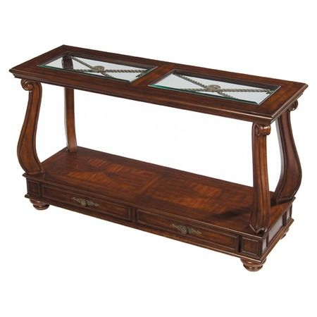 I pinned this Richmond Sofa Table from the Royston Thomas Home event at Joss and Main!