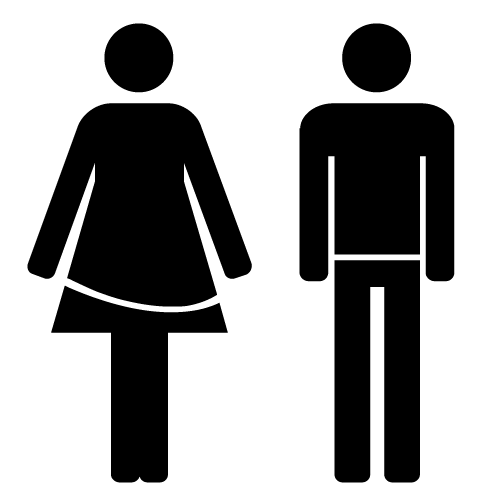 Male Female Bathroom Symbols Download Sign Symbols… For Free  Open Type Type Fonts And Signs