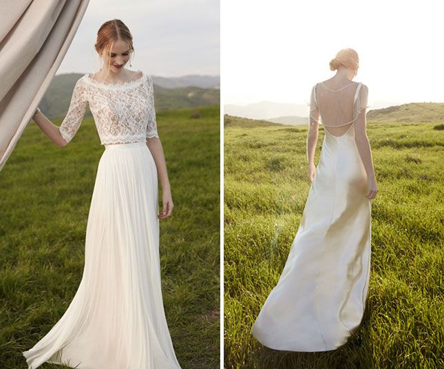 Build Your Own Wedding Dress With BHLDN\'s New Bridal Separates Line ...