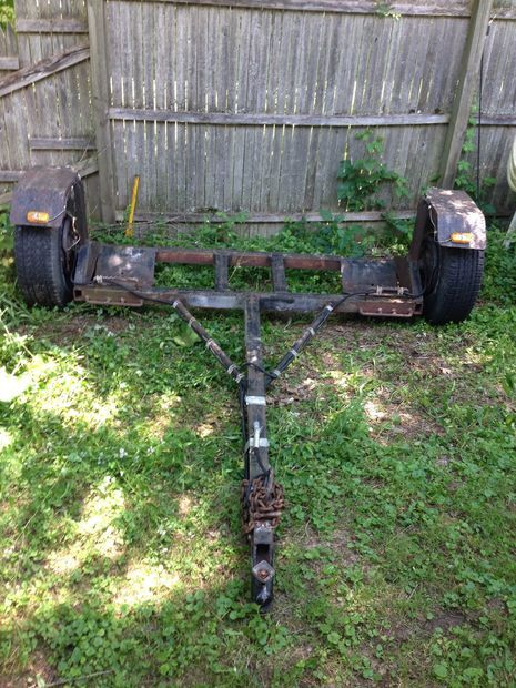How To Make A Car  Truck Tow Dolly Cheap