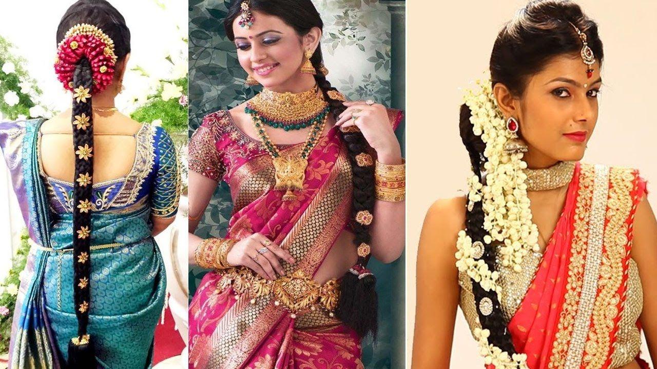 #bridalhairstyles #indianbridalhairstyles #southindianbridalhairstyles #wedd… (With images ...