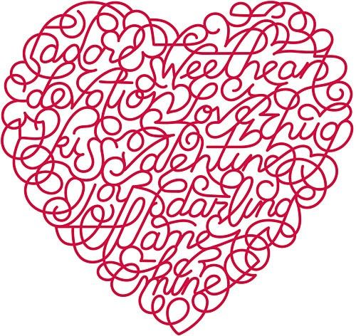 LOVE this ~ it has the word Sweetheart in it, which is what my