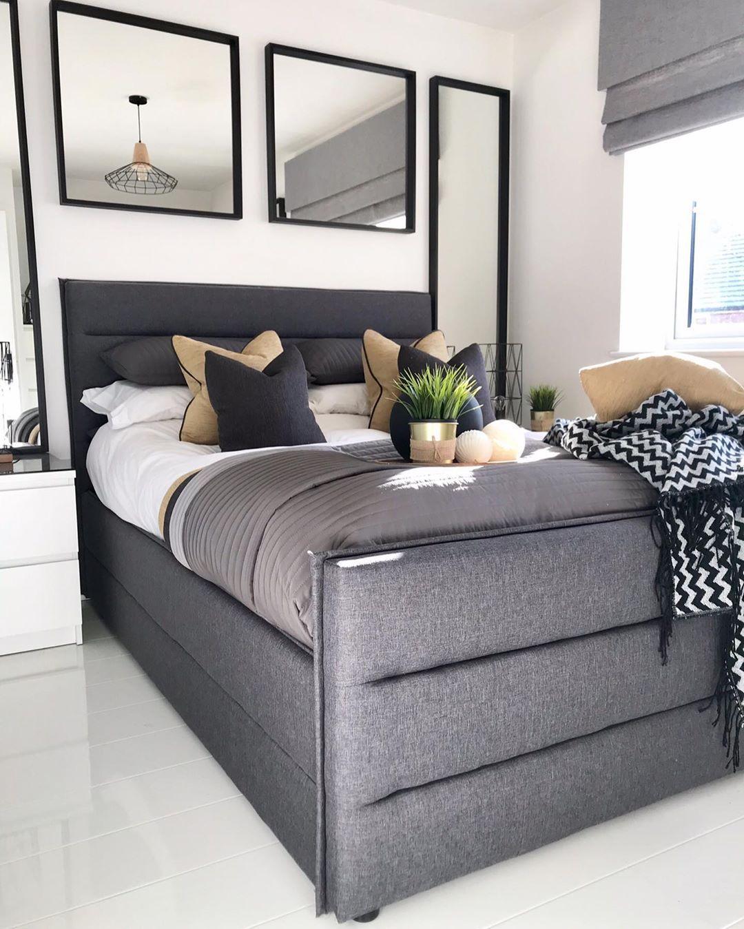 Schlafzimmer Einrichten Anthrazit
