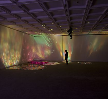Rebecca Baumann, Reflected Glory, 2013 Commissioned by Lawrence Wilson Art Gallery for LUMINOUSFLUX